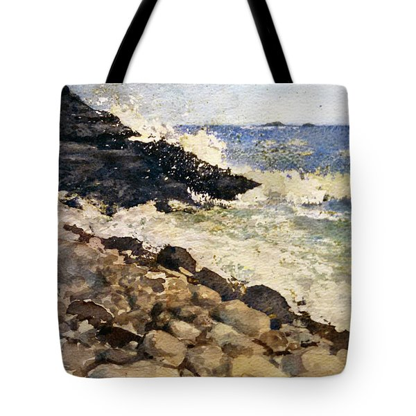 Black Rocks - Lake Superior Tote Bag