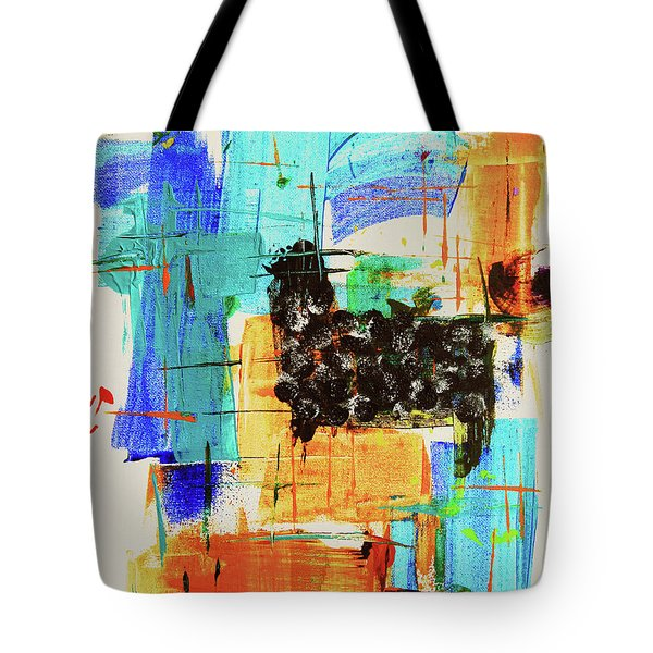 Black Sheep Tote Bag by Jeanette French