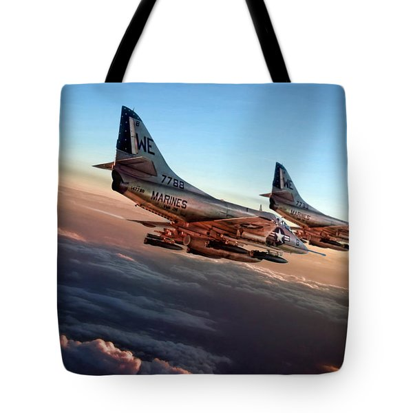Black Sheep Skyhawks Tote Bag