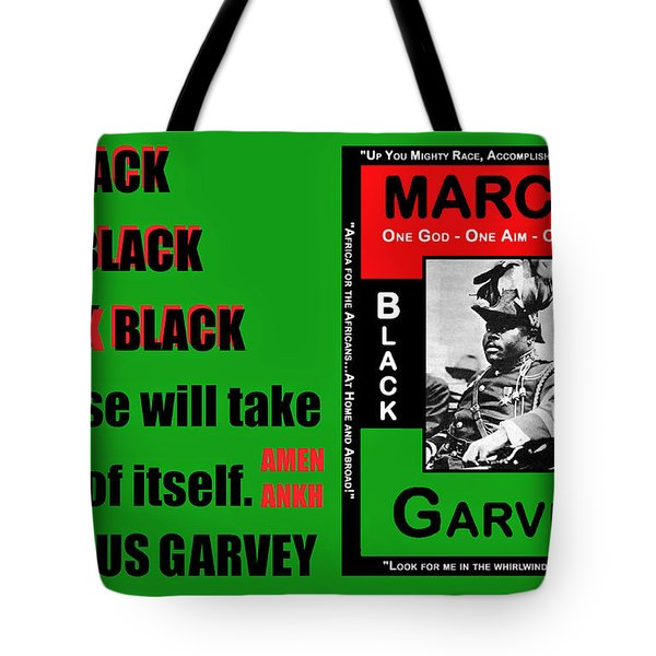 Black Star Garvey Tote Bag
