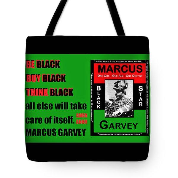 Black Star Garvey Tote Bag