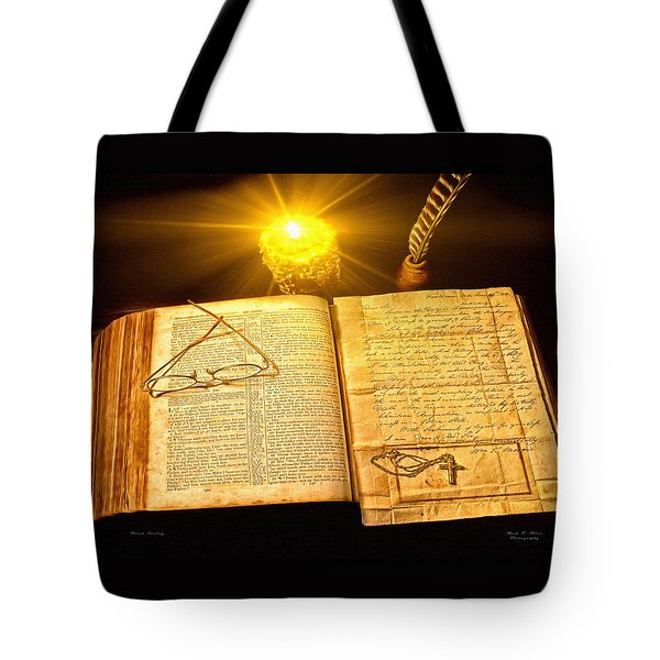 Black Sunday Tote Bag