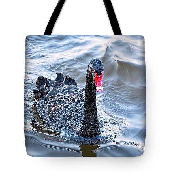 Black Swan 3 Tote Bag by Kaye Menner