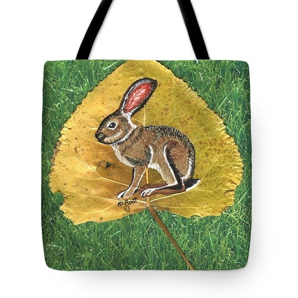 Black Tail Jack Rabbit  Tote Bag