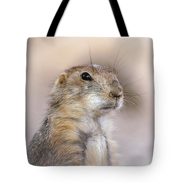 Black Tail Prairie Dog Tote Bag