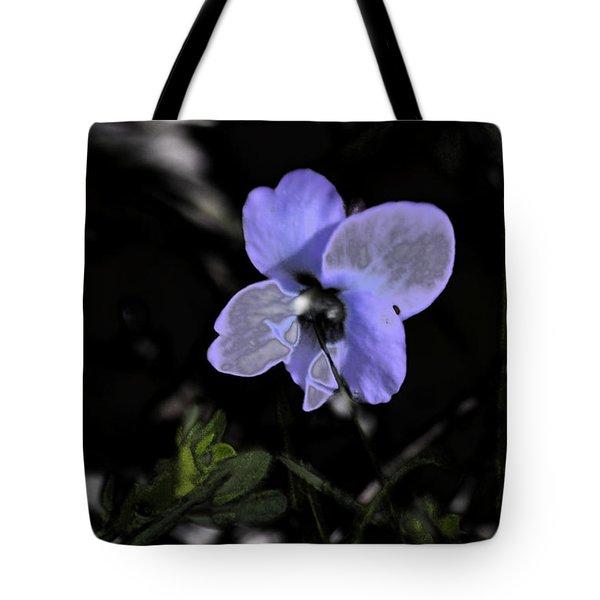 Black Violet Tote Bag