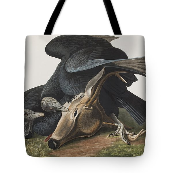 Black Vulture Or Carrion Crow Tote Bag