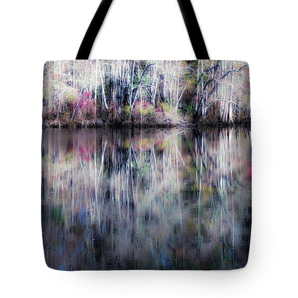 Black Water Fantasy Tote Bag