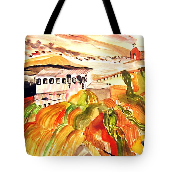 Black Waters Of The Andes Tote Bag