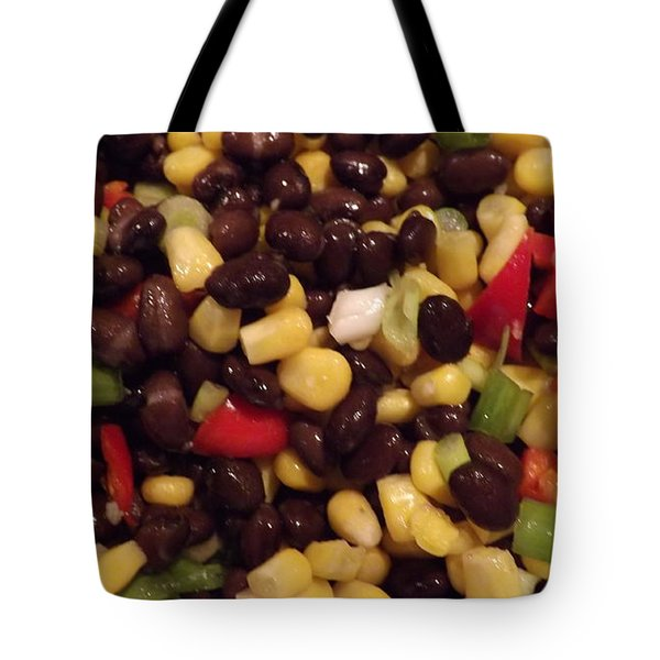 Blackbean Salad Tote Bag