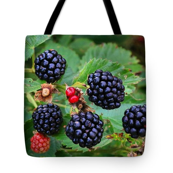 Blackberries 2 Tote Bag