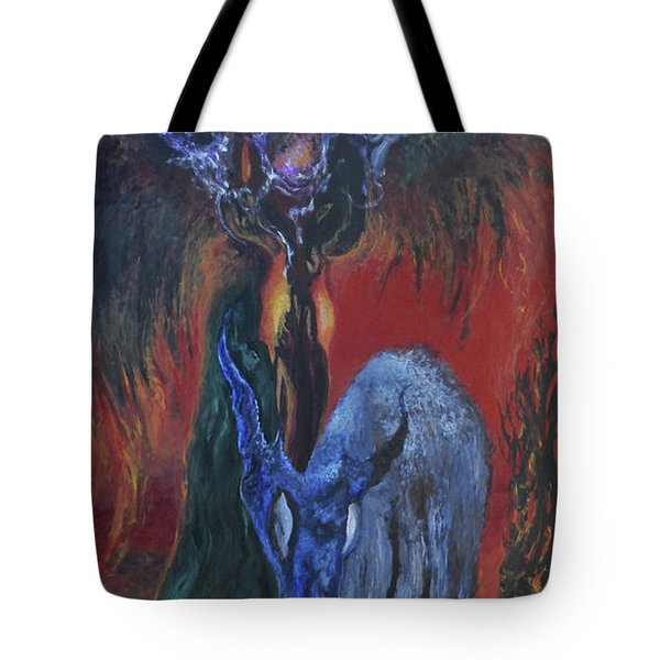 Blackberry Thorn Psychosis Tote Bag