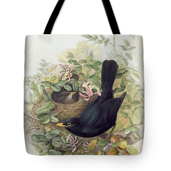 Blackbird,  Tote Bag