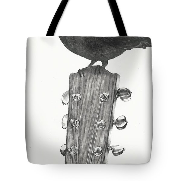 Blackbird Solo  Tote Bag by Meagan  Visser