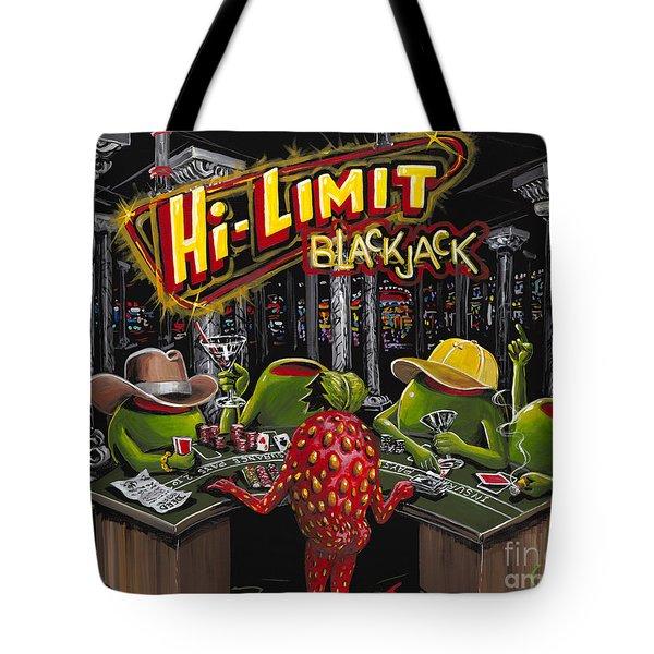 Blackjack Pimps Tote Bag