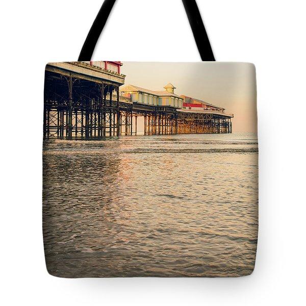 Blackpool Pier  Tote Bag