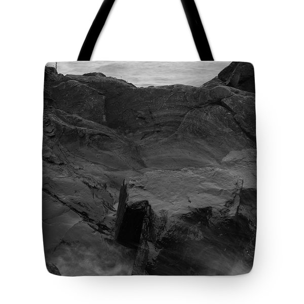 Tote Bag featuring the photograph Blackrock Lighthouse by Dylan Punke
