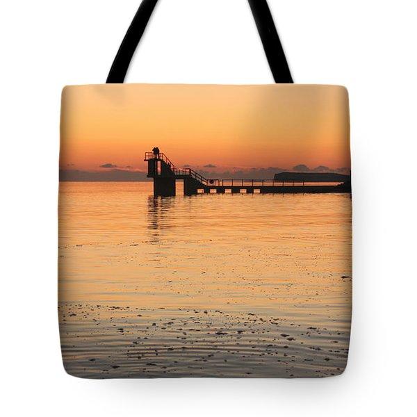 Blackrock Sunset Tote Bag