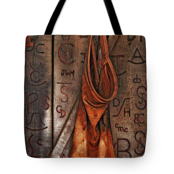 Blacksmith Apron Tote Bag