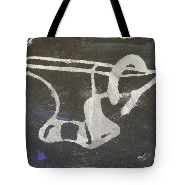 Tote Bag featuring the painting Blacksmith's Buddy by Candace Shrope