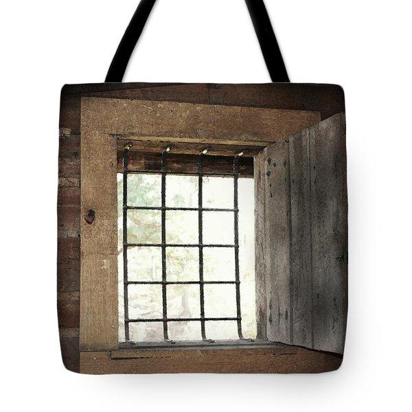 Blacksmith's View Tote Bag by Kim Henderson