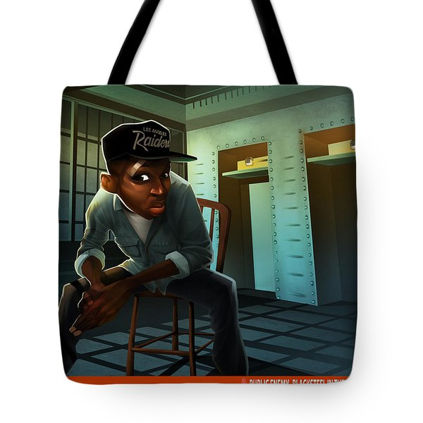 Blacksteel In The Hour Of Chaos Tote Bag