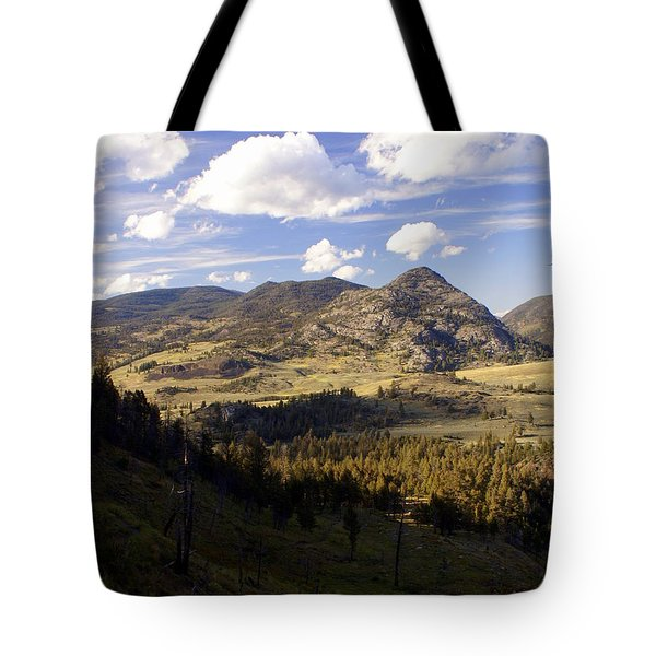 Blacktail Road Landscape Tote Bag by Marty Koch