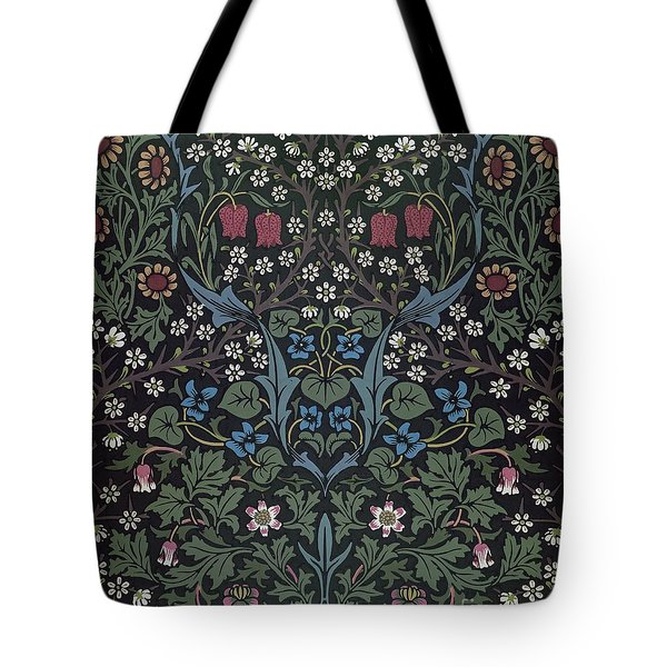 Blackthorn Wallpaper Design Tote Bag