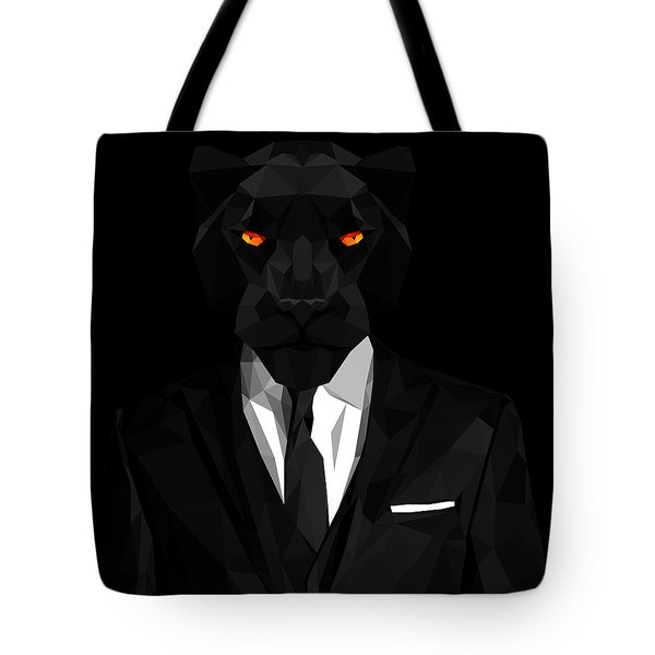 Blacl Panther Tote Bag