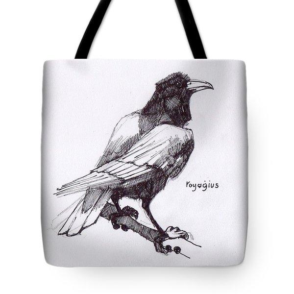 Sketch For Black  Tote Bag