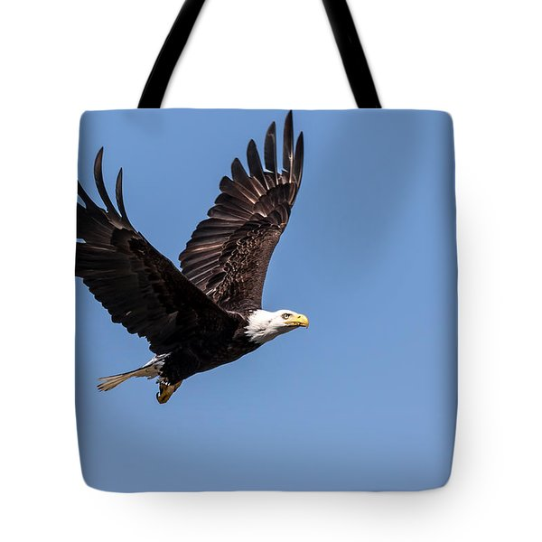 Blad Eagle Flying High Tote Bag