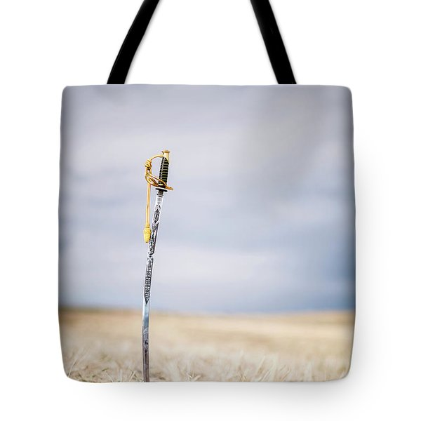 Blade Of Glory Tote Bag