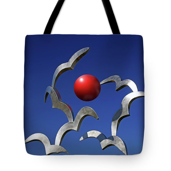 Tote Bag featuring the photograph Blades And Ball by Christopher McKenzie