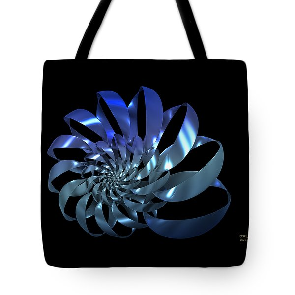Tote Bag featuring the digital art Blades by Manny Lorenzo