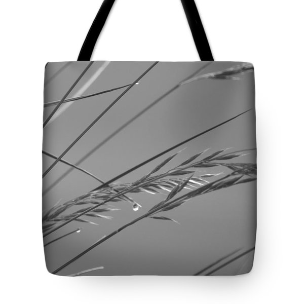 Blades Of Gray Tote Bag