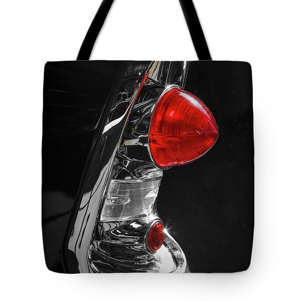 Tote Bag featuring the photograph Black '56 by Dennis Hedberg