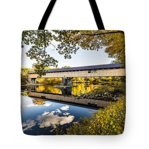 Tote Bag featuring the photograph Blair Bridge by Anthony Baatz