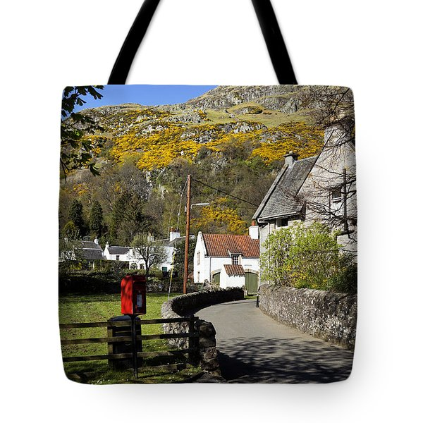 Tote Bag featuring the photograph Blairlogie by Jeremy Lavender Photography
