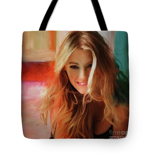 Blake Lively  Tote Bag