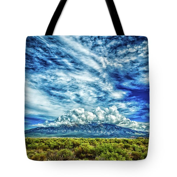 Blanca Peak Colorado Tote Bag