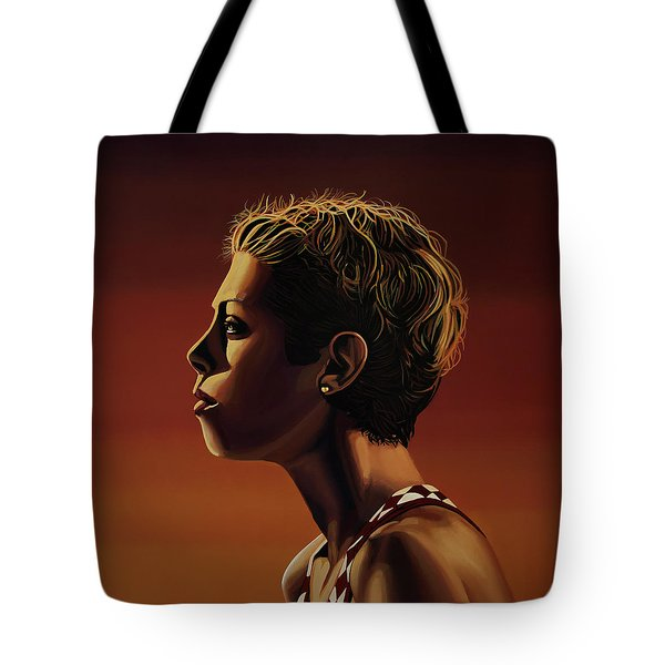 Blanka Vlasic Painting Tote Bag