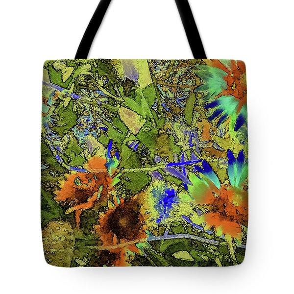 Blanket Flower II Tote Bag