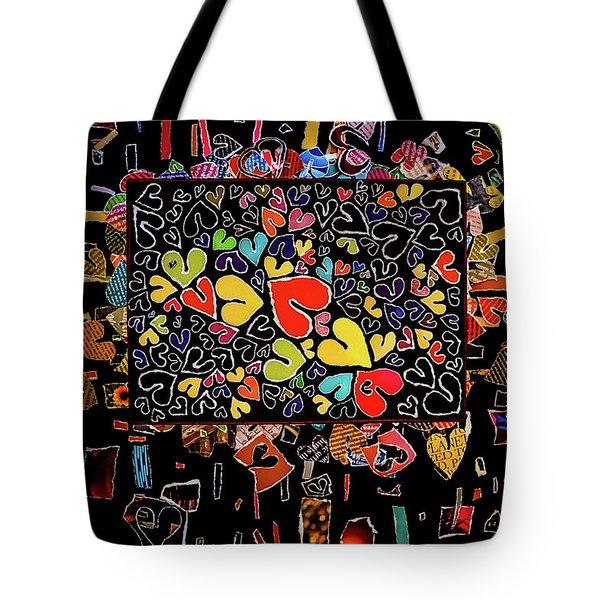 Blanket Of Love  Tote Bag