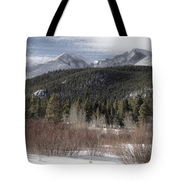 Blanket Of Snow Tote Bag