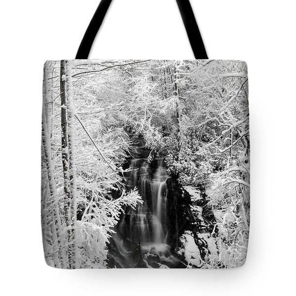 Blanket Of White Tote Bag