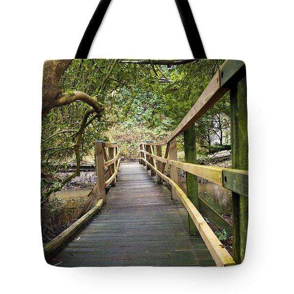 Blarney Boardwalk Tote Bag by Rae Tucker