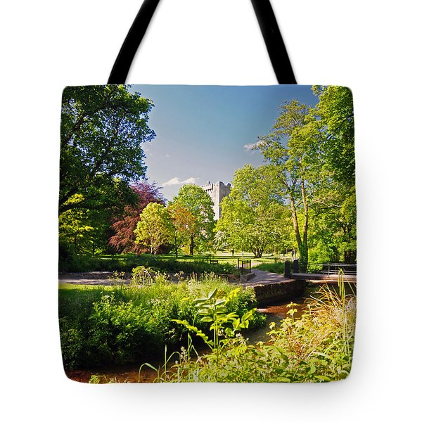 Blarney Castle And Grounds  Tote Bag