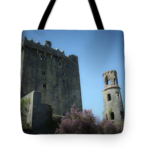 Blarney Castle And Tower County Cork Ireland Tote Bag by Teresa Mucha