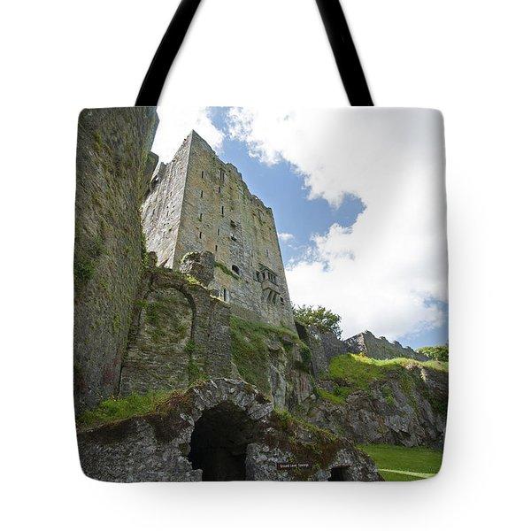 Blarney Castle Dungeon Tote Bag