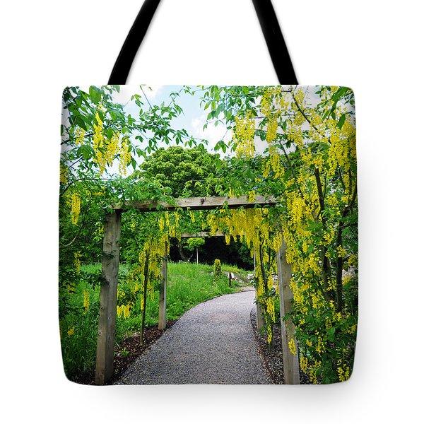 Blarney Castle Gardens Tote Bag